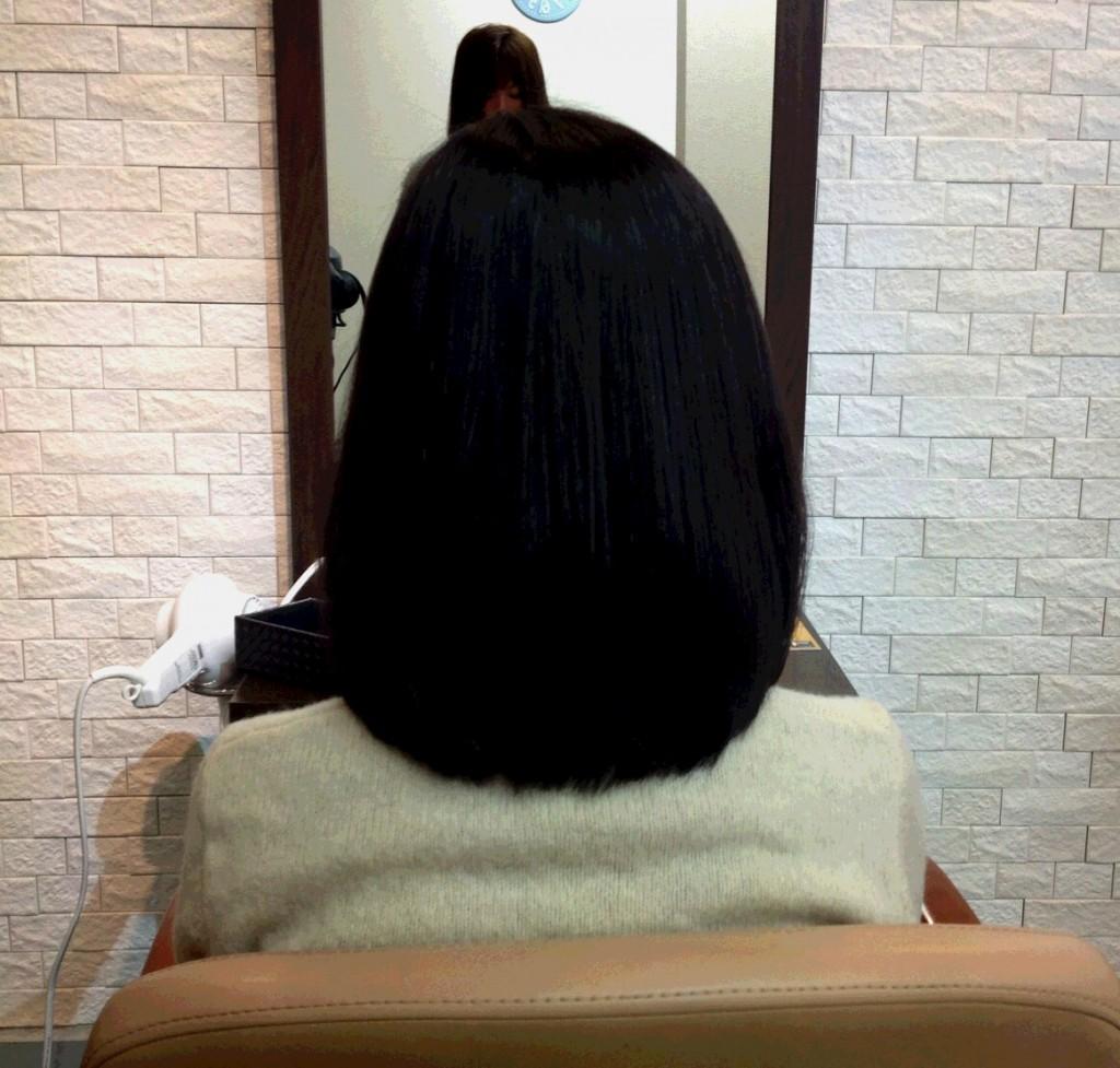 ツヤサラ髪美人